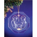 CRYSTAL-LIKE CHRISTMAS ORNAMENT