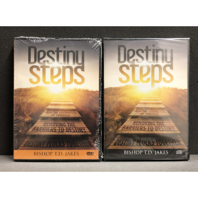 DESTINY STEPS SET - T.D. JAKES