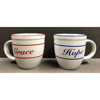 HOPE AND GRACE MUG SET