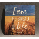 I AM THE BREAD OF LIFE WOOD ART