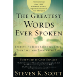 THE GREATEST WORDS EVER SPOKEN (THINLINE EDITION) - STEVEN K. SCOTT