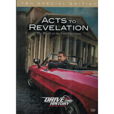 DRIVE THRU HISTORY: ACTS TO REVELATION (STANDARD DVD COVER)